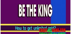 Be The King Hack 2019, The Best Hack Tool To Get Free Gold