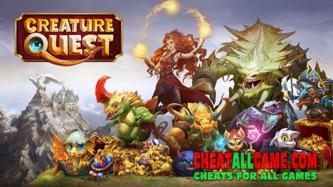 Creature Quest Hack 2019, The Best Hack Tool To Get Free Diamonds