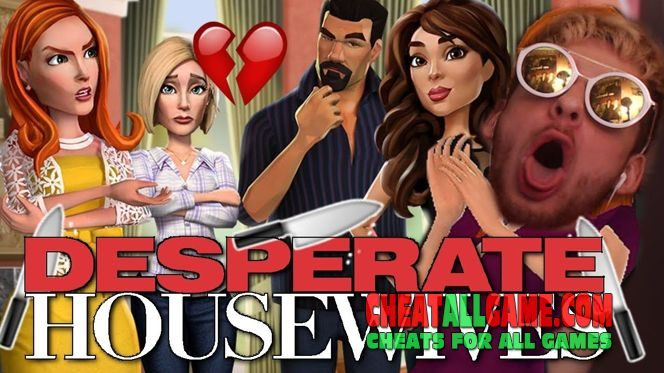 Desperate Housewives The Game Hack 2019, The Best Hack Tool To Get Free Diamonds