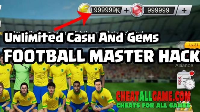 Football Master 2018 Hack 2019, The Best Hack Tool To Get Free Gems