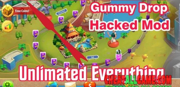 Gummy Drop Hack 2019, The Best Hack Tool To Get Free Coins