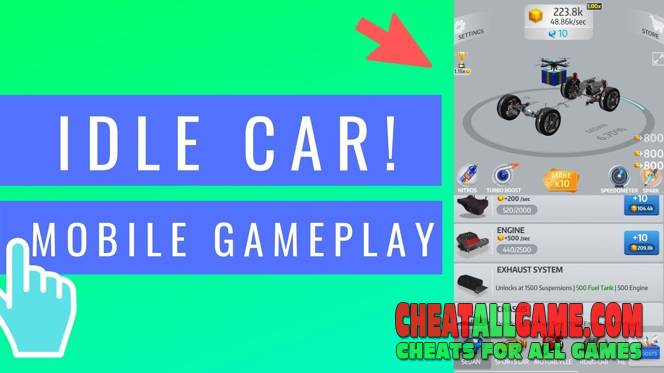 Idle Car Hack 2021, The Best Hack Tool To Get Free Diamonds