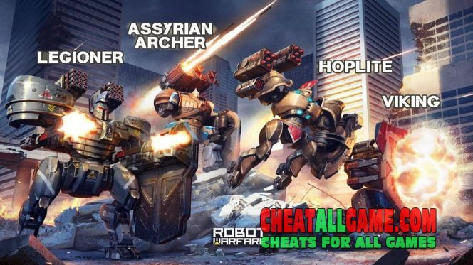Robot Warfare Hack 2019, The Best Hack Tool To Get Free Gold