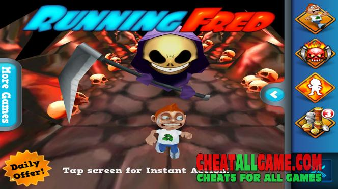 Running Fred Hack 2020, The Best Hack Tool To Get Free Skullies