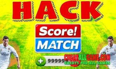 Score Match Hack 2019, The Best Hack Tool To Get Free Bux