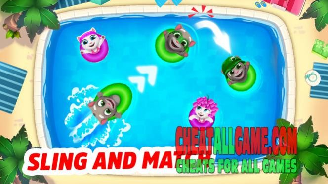 Talking Tom Pool Hack 2019, The Best Hack Tool To Get Free Coins