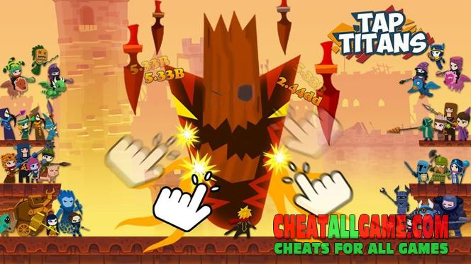 Tap Titans Hack 2020, The Best Hack Tool To Get Free Diamonds
